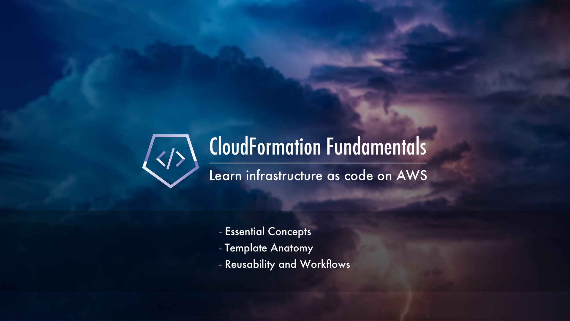 Learn the Essential Concepts and Practices of AWS CloudFormation